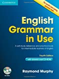 Raymond Murphy English Grammar in Use with Answers and CD-ROM: A Self-Study Reference and Practice Book for Intermediate Learners of English