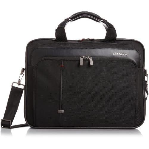 [サムソナイト] SAMSONITE Essence Pro/ エッセンシス プロ ラップトップ ブリーフケース S(ビジネスバッグ・ブリーフケース・軽量・ラップトップ・PC/タブレット収納・保証付) R32*09001 09 (ブラック)