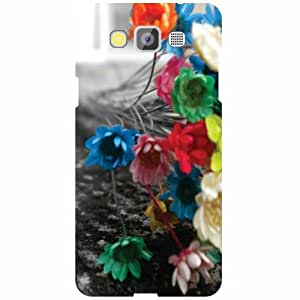 Samsung Galaxy Grand Max SM-G7200 Back Cover - Colorful Flowers Designer Cases