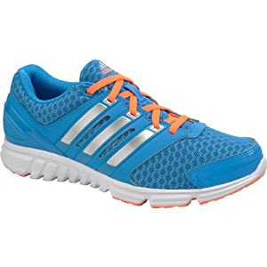 Adidas Womens Falcon PDX Running Shoes-Sole Blue/Silver/Orange-8.5