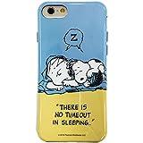 グルマンディーズ ピーナッツ iPhone7対応ソフトケース スヌーピー&ライナス sng-163d