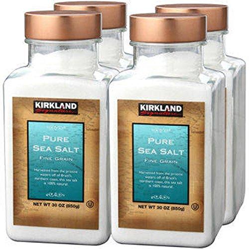 Kirkland SignatureTM Pure Sea Salt 4-pack (Kirkland Salt compare prices)