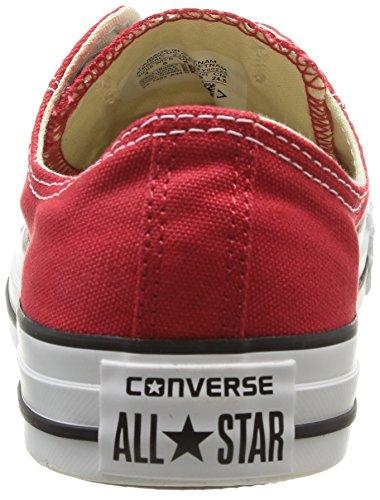 Converse Unisex Chuck Taylor All Star Ox Red Basketball Shoe 3 Men US / 5 Women US