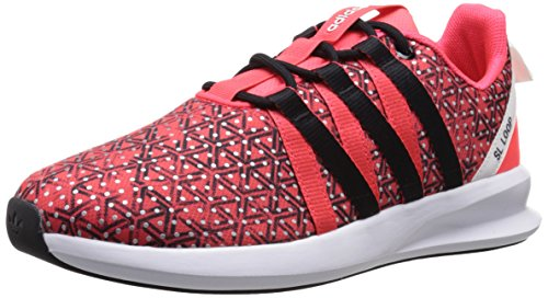 Adidas Originals Women's SL Loop Racer W Sneaker,Shock Red/Black/White,8.5 M US