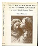 img - for Early Photographs and Early Photographers: A Survey in Dictionary Form book / textbook / text book