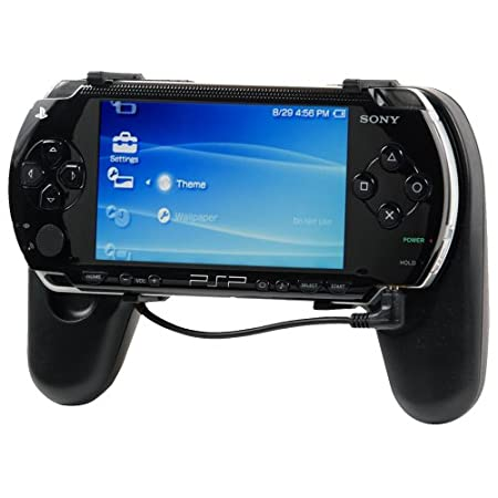 PSP GRIP With Built-in 6 Hour Rechargeable Battery