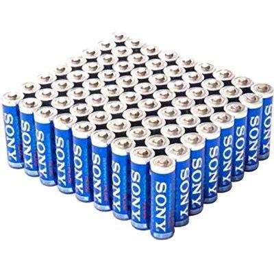 Sony Stamina Plus AAA Alkaline Batteries, 72 Count