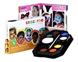 Snazaroo Face Paint Palette Kit, Wild Face