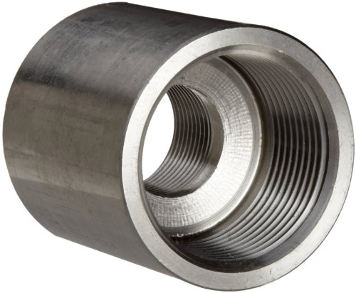 Stainless Steel 316 Pipe Fitting, Reducing Coupling, Class 1000, 3/4