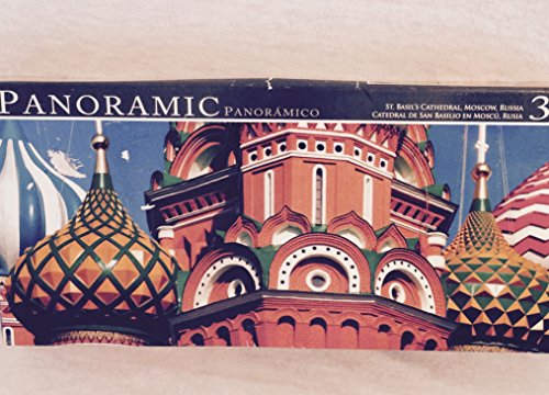 Panoramic 350 Puzzle - St. Basil's Cathedral, Moscow, Russia