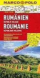 MARCO POLO Länderkarte Rumänien, Republik Moldau 1:800.000 (MARCO POLO Länderkarten)