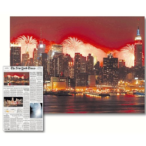 THE NEW YORK TIMES Celebrating the Nation's Birthday (7/4/05) Jigsaw Puzzle 1000pc