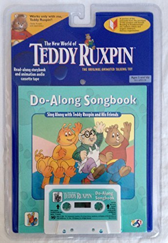 The New World of Teddy Ruxpin Do-Along Songbook Book & Tape (Teddy Ruxpin Grubby)