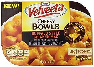 Velveeta Cheesy Bowls, Buffalo Style Chicken Mac, 9 Ounce