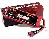KT2200 2S 30C KyPOM K6シリーズ リポバッテリー 7.4V-2200mAh-30C