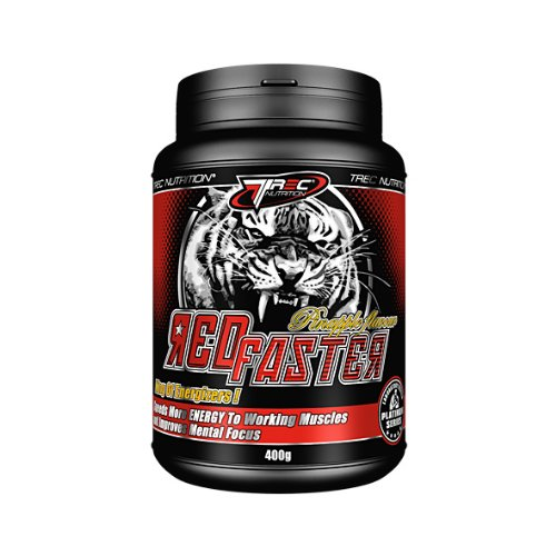 REDFASTER Best Energy Drink 400g Pineapple - Pre-Workout Stimulant Supplement