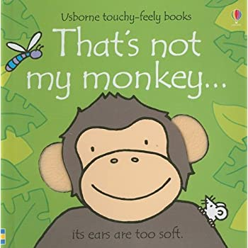Set A Shopping Price Drop Alert For That's Not My Monkey (Usborne Touchy-Feely Books)