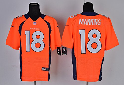 Perfection Space PM DB Men's Football Jersey-Orange XL (Peyton Manning Football Jersey compare prices)
