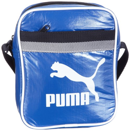 PUMA Borsa Messenger 70110 01 Blu 2.5 liters