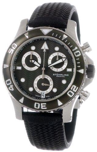 Stuhrling Original Men's 33AA.332B61/N Water Sports Collection Atlantis Acropolis Watch