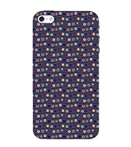 Animated Pattern little stars 3D Hard Polycarbonate Designer Back Case Cover for Apple iPhone 5 :: Apple iPhone 5