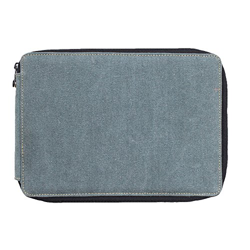 Global Art Canvas 120 Pencil Case Steel Blue (Pencil Art Box compare prices)