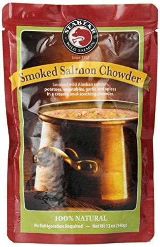 Seabear Smoked Salmon Chowder, 12 Ounce Unit
