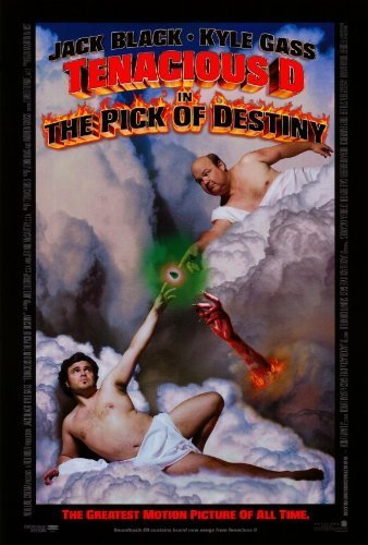 Old Tin Sign 8x12 inch Tenacious D in: The Pick of Destiny Movie (2006) Metal Tin Sign Home Decor (Tenacious D Decals compare prices)
