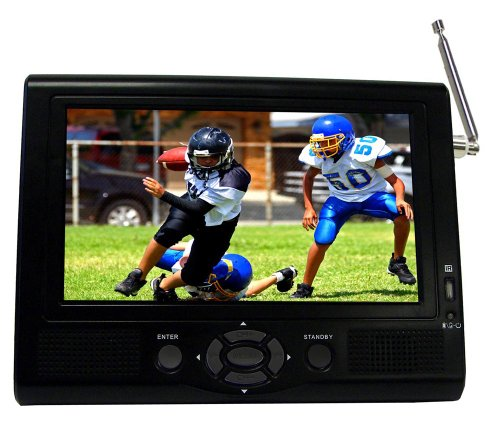 buy supersonic 7 portable lcd tv with atsc digital tuner. Black Bedroom Furniture Sets. Home Design Ideas