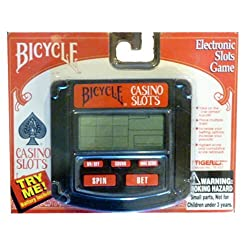 Bicycle Casino Slots Game Tiger Electronics 1994