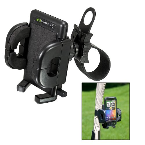 Rwa-458-Bl Universal Golf Gps Mount With Strap Bracketron Gps Mounts