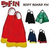 DA FIN 【ダフィン】 BBフィン ボディボード用フィン スイムフィン DaFin (NVY_YEL, M)