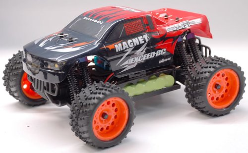 1/16 2.4Ghz Exceed RC Magnet EP Electric RTR Off Road Truck Sava Red