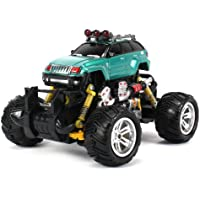 Jeep Grand Cherokee Electric Rc Off Road Monster Truck 1:18 Scale 4 Wheel Drive Rtr, Working Hinged Spring Suspension... - B00KCUUYE0
