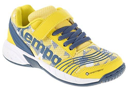 Kempa-Scarpe da pallamano junior Sneakers per sale Benzina/Giallo, petrol/gelb, 30 (EU)