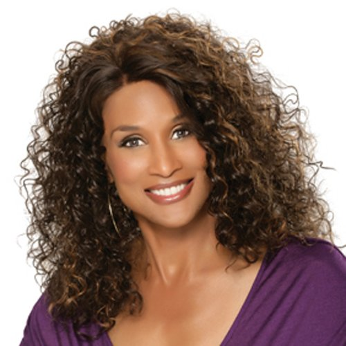 Beverly Johnson Lace Front Wig - Kimora - Color#4/27- Light Brown/Blond front-655421