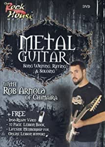 Rob Arnold of Chimaira, Song Writing, Riffing and Soloing