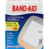 BAND-AID(バンドエイド) 救急絆創膏 肌色タイプ ジャンボ<Sサイズ> 10枚