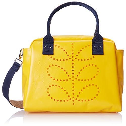 Orla Kiely Women's Tarpaulin Zip Shoulder Bag