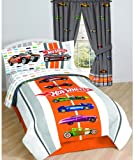 Hotwheels Vintage Hot Rods Twin Bedding Sheet Set