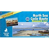 North Sea Cycling Route 4Tönder to Skagen: Route Book and Map (Cycline)