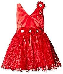 Atayant Girl Evening Dress (ATAYK_007_2:3YR_Red_S)
