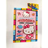 Funcart Hello Kitty Coloring Book With Crayons