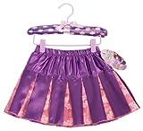 My Super Bestfriends Batgirl Pleated Skirt with Puff Hanger, Purple