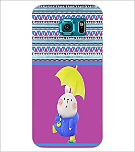 PrintDhaba Cartoon D-3365 Back Case Cover for SAMSUNG GALAXY S6 EDGE (Multi-Coloured)