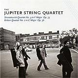 echange, troc Britten, Shostakovich, Jupiter String Quartet - String Quartet 2 & 3