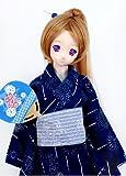 DDSDドルフィードリーム浴衣ゆかた衣装セット(M・L胸)藍色