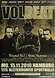 Poster - Volbeat - München 2010 - Original Konzert Plakat Poster von Volbeat