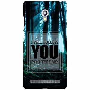 Asus Zenfone 6 A601CG Phone Cover - Follow You Matte Finish Phone Cover