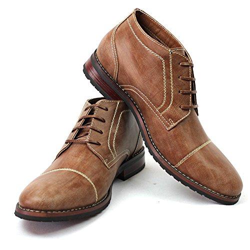 New men s cap toe ferro aldo dress boots lace up modern 806019 8 5 u